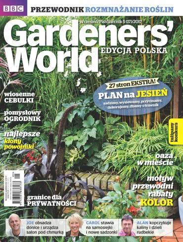 Gardeners World Edycja Polska: wrzesień - październik 2017