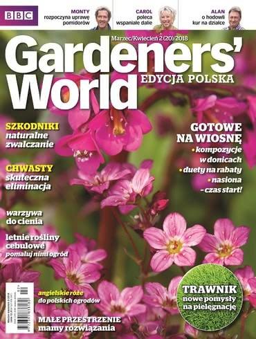 Gardeners World Edycja Polska: marzec - kwiecień 2018