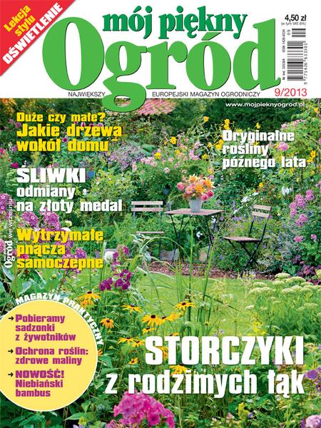 Mój Piękny Ogród 9/2013