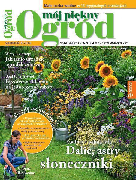 Mój Piękny Ogród 8/2016
