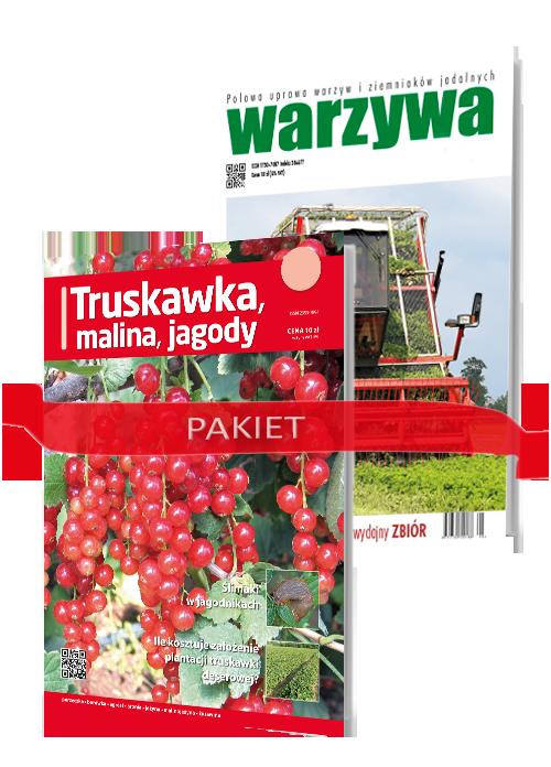 Prenumerata: Warzywa – pakiet: Warzywa + Truskawka, Malina, Jagody