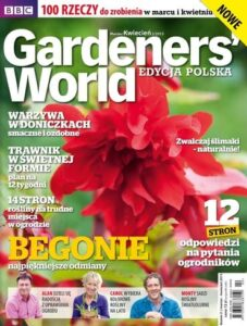 Gardeners World Edycja Polska: marzec - kwiecień 2015