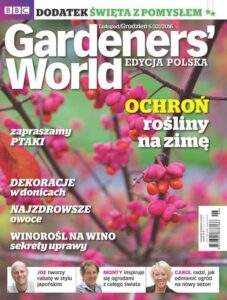 Gardeners World Edycja Polska: listopad - grudzień 2016