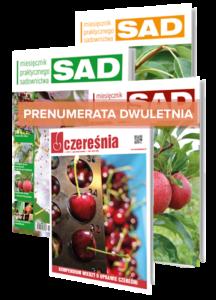 Prenumerata dwu letnia: Miesięcznik Praktycznego Sadownictwa SAD